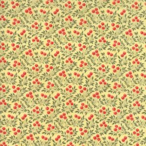 Small Image of Moda Fabric Anns Arbor Sprigs Yellow