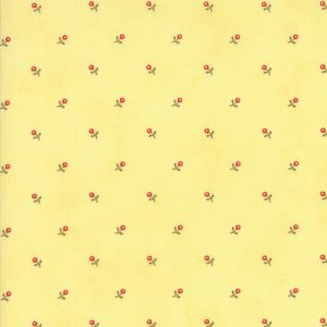 Small Image of Moda Fabric Anns Arbor Buds Yellow