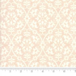 Moda Poetry Prints Damask Blush Quilting Fabric