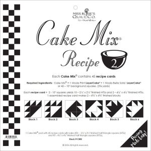 Small Image of Cake Mix Recipe 2 By Miss Rosies Quilt Co