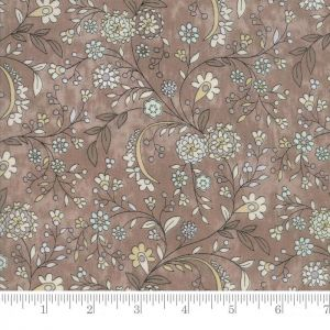 Small Image of Moda Fabric Maven Delicate Floral Taupe