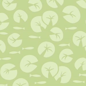Lily Pad Lily Pads Quilting Fabric