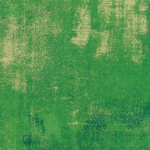 Moda Fabric Grunge Metallic Fern