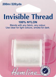 Small Image of Invisible Thread Clear