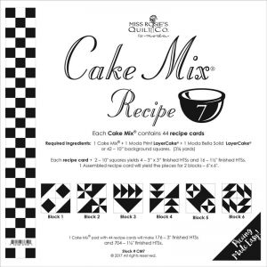 Small Image of Cake Mix Recipe 7 Miss Rosies Quilt Co