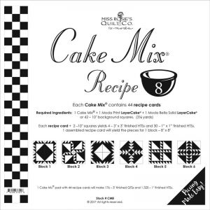 Small Image of Cake Mix Recipe 8 Miss Rosies Quilt Co