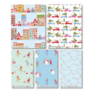 Christmas Town Fat Quarter Pack