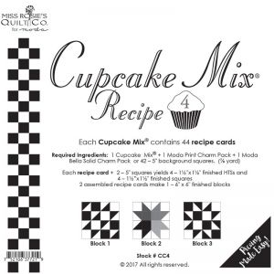 Small Image of Cupcake Mix Recipe 4 By Miss Rosies Quilt Co For Moda