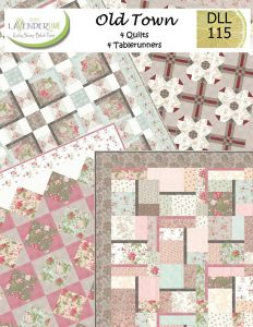 Old Town Project Booklet With Eight Patterns