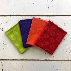 Rainbow Etchings Style 2 Fat Quarter Pack