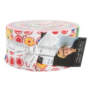 Moda Fabric Feed Sack Red Rover Jelly Roll