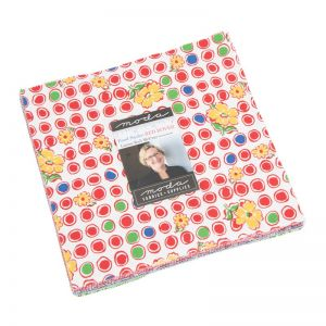 Moda Fabric Feed Sack Red Rover Layer Cake