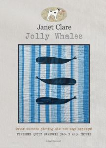 Janet Clare Quilt Pattern Jolly Whales