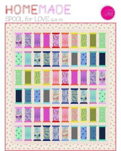 Tula Pink Homemade Spool for Love Quilt Kit