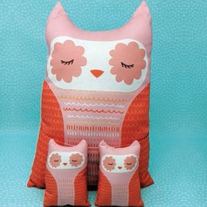 Large Image 2 Moda Cut Sew Create - Forest Animal Plushies Panel 47 x 44 Inches