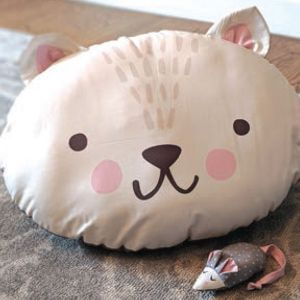 Large Image 2 Moda Cut Sew Create - Kitty Bed Toy Panel 59 x 44 Inches