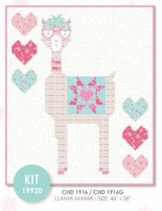 Llama Love Quilt Kit by Deb Strain for Moda