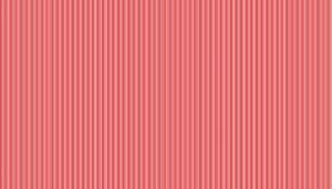 Large Image of Makower Fabric Pin Stripe Red
