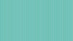Large Image of Makower Fabric Pin Stripe Turquoise