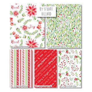 Merry and Bright Fat Quarter Pack