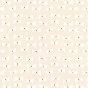 Small Image of Michael Miller Wee Sparkle Bow Ties Confection With Metallic Cotton Fabric