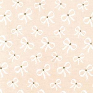 Small Image of Michael Miller Wee Sparkle Lace Up Confection With Metallic Cotton Fabric