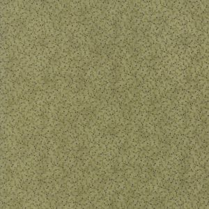 Large Image of Moda Clover Meadow Vines Berries Green Fabric