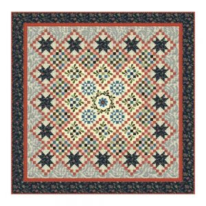 Elinores Endeavor Quilt Kit by Betsy Chutchian For Moda