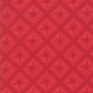 Large Image of Moda Fabric Cinnaberry Cranberry Check
