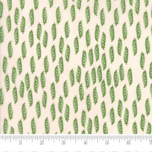 Moda Darling Little Dickens Peas in Pod Pink Cheeks Quilting Fabric