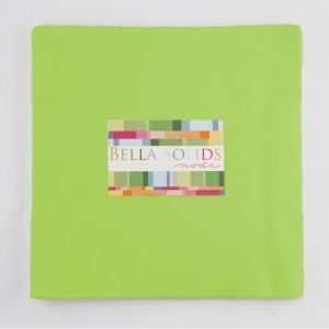 Small Image of Moda Fabric Junior Layer Cakes Bella Solids Lime