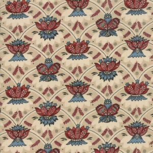 Large Image of Moda Fabric Vive La France Souveraine Oyster