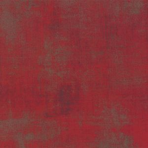 Moda Fabric Quilt Backing Grunge Maraschino Cherry 108 Inch wide