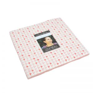 Moda Fabric Soft and Sweet Flannel Pink Junior Layer Cake