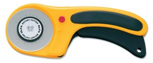 Small Image of Olfa Deluxe Rotary Cutter Retracting 60mm