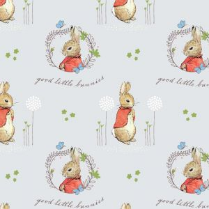 Peter Rabbit Characters Flopsy Mopsy Grey