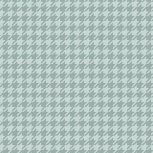 Puddles and Boots Fabric Houndstooth Check Grey by Diane Rooney