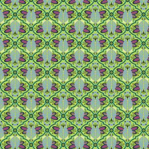 Small Image of Tula Pink Fabric All Stars Agave Bee