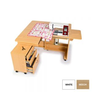 Small Image of Horn Quilters Delight Mk2 Sewing Cabinet