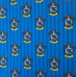 Harry Potter Ravenclaw House Quilting Fabric
