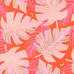 Ruby Star Fabric Florida Shade Palms Fire RS2024 14M