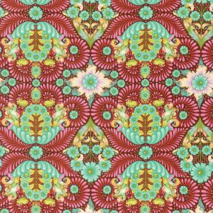 Small Image of Slow And Steady By Tula Pink The Tortoise Orange Crush