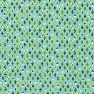 Small Image of Slow And Steady By Tula Pink Track Flags Blue Raspberry