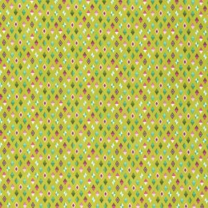 Small Image of Slow And Steady By Tula Pink Track Flags Strawberry Kiwi