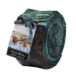 Moda Splendor Batiks Jelly Roll Small Image