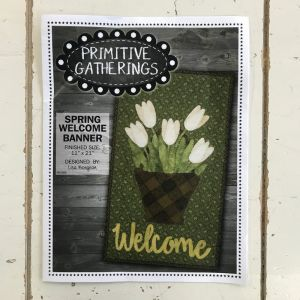 Spring Welcome Banner by Primitive Gatherings