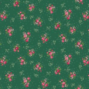 Small Image of Stof Trachten Rosen Quilting Fabric 4523-545