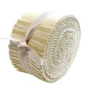 Stof Spiral Whites and Creams Fabric Strips