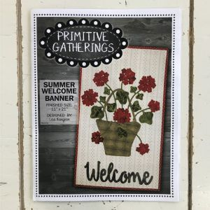 Summer Welcome Banner by Primitive Gatherings