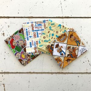 Toy Story Style 1 Fat Quarter Pack